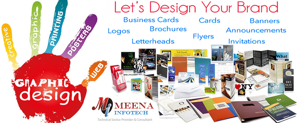 Graphic Designing - Posters Designing - DTP - Printing - India - Meena Infotech