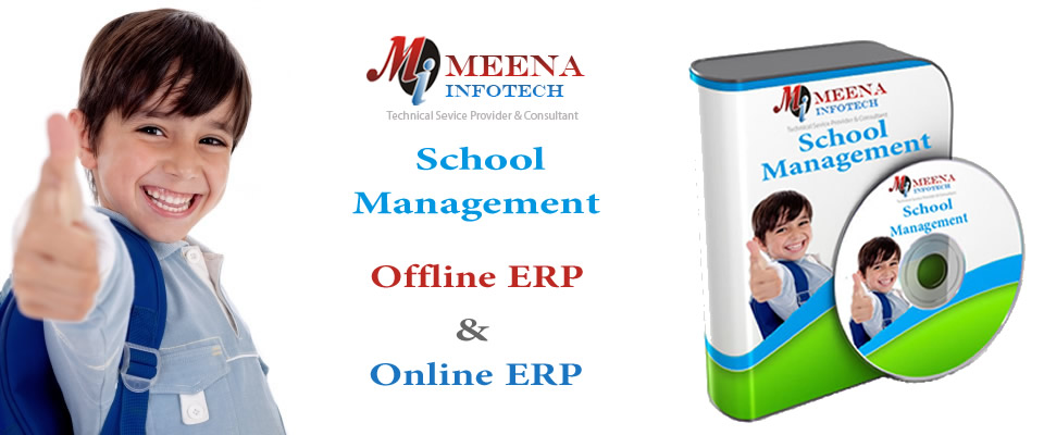 School Management Software India - ERP Offline - Meena Infotech