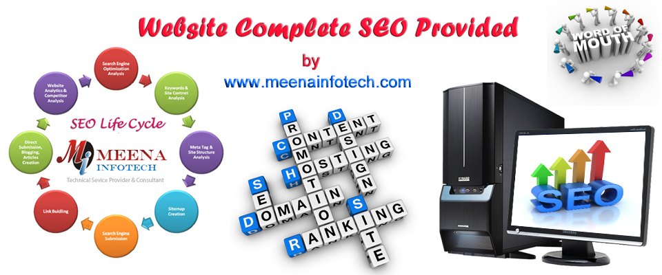 Search Engine Optimization - We Promote - You Earn